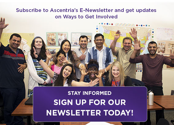 Sign up for Ascentria