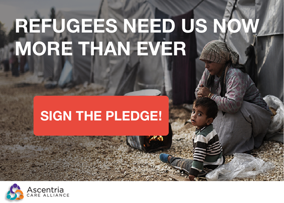 Sign the Pledge to Support Refugees